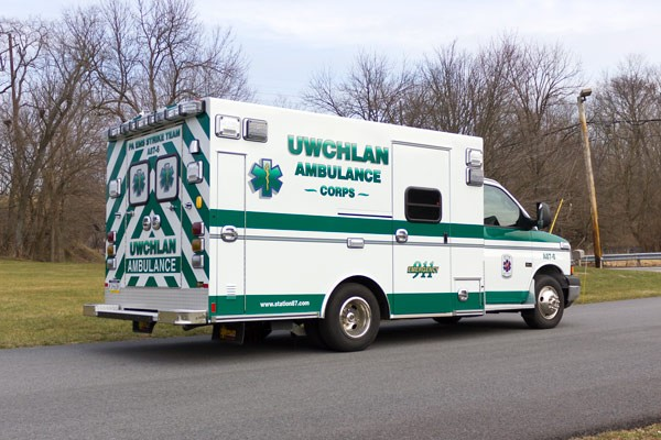 new ambulance sales in PA - Braun Express Type III - passenger rear