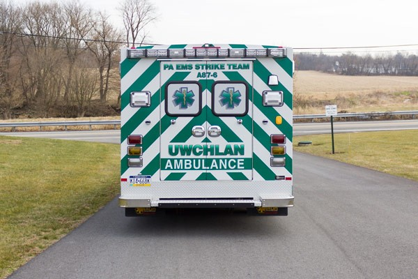 new ambulance sales in PA - Braun Express Type III - rear