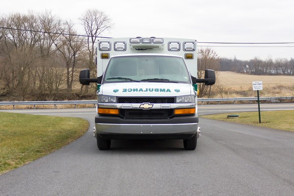new ambulance sales in PA - Braun Express Type III - front