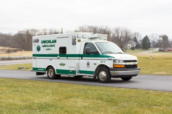 new ambulance sales in PA - Braun Express Type III - passenger front