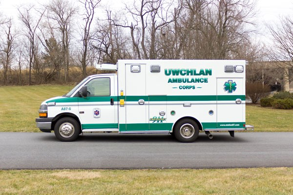 new ambulance sales in PA - Braun Express Type III - driver side