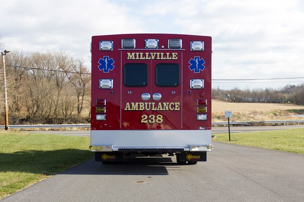 2016 Braun Liberty Type I - new ambulance sales in PA - rear