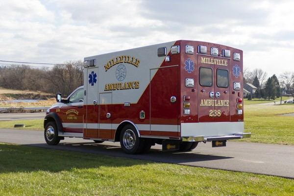 2016 Braun Liberty Type I - new ambulance sales in PA - driver rear