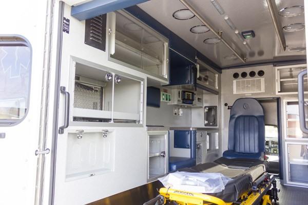 2016 Braun Liberty Type I - new ambulance sales in PA - module interior driver side