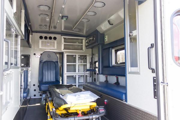 2016 Braun Liberty Type I - new ambulance sales in PA - module interior passenger side