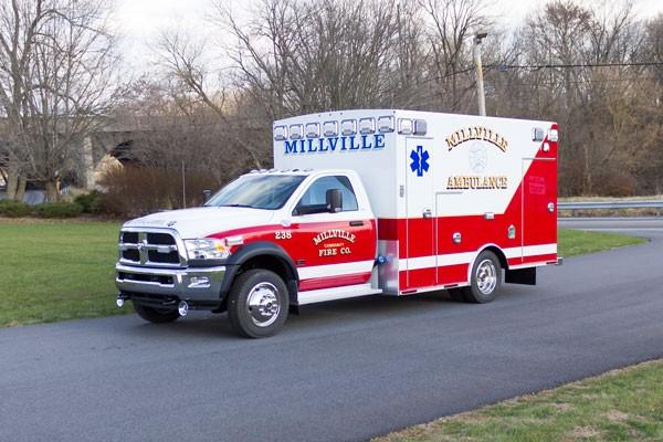 2016 Braun Liberty Type I - new ambulance sales in PA - driver front