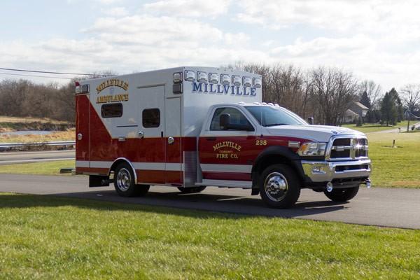 2016 Braun Liberty Type I - new ambulance sales in PA - passenger front