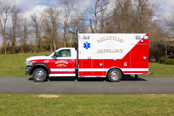 2016 Braun Liberty Type I - new ambulance sales in PA - driver side