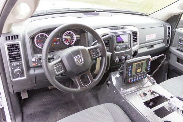 2016 Braun Liberty Type I - new ambulance sales in PA - cab interior MasterTech controls