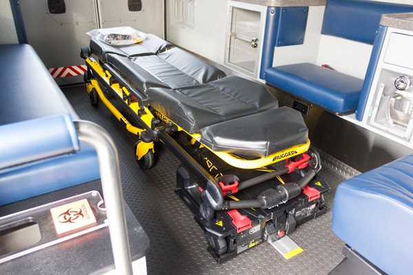 2016 Braun Liberty Type I - new ambulance sales in PA - power stretcher system