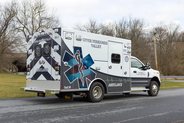 2017 Braun Signature Series Type I - Pennsylvania new ambulance sales - passenger rear