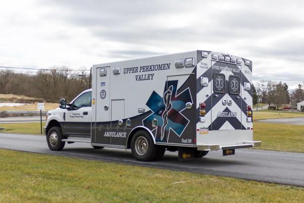 2017 Braun Signature Series Type I - Pennsylvania new ambulance sales - driver rear