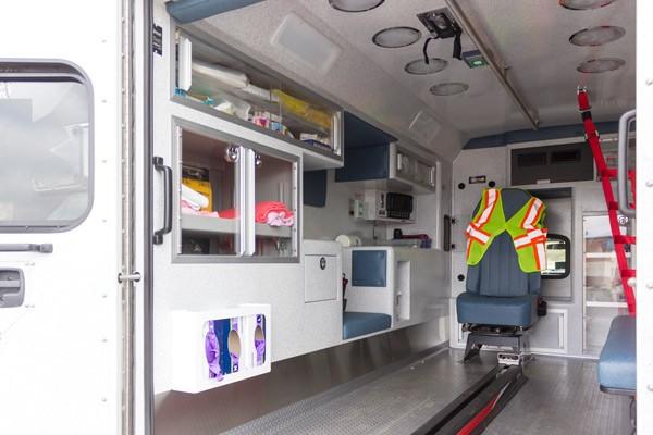 2017 Braun Signature Series Type I - Pennsylvania new ambulance sales - module interior driver side