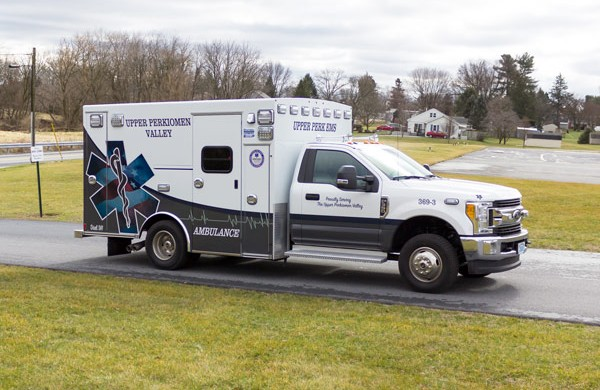 2017 Braun Signature Series Type I - Pennsylvania new ambulance sales - passenger front