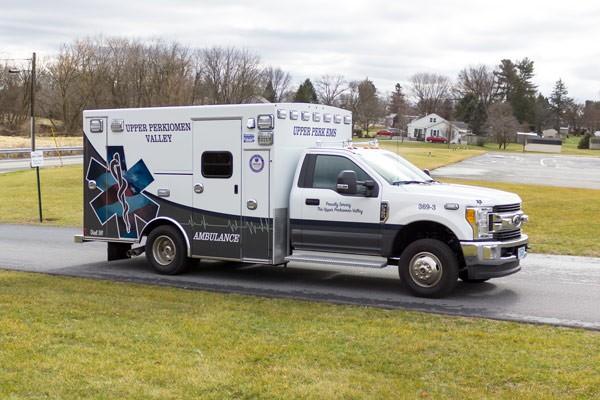 2017 Braun Signature Series Type I - Pennsylvania new ambulance sales - passenger front