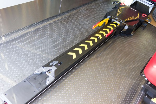 Glick Fire Equipment - Pennsylvania new type I ambulance sales - power stretcher track