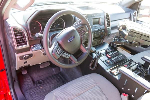 Glick Fire Equipment - Pennsylvania new type I ambulance sales - cab interior