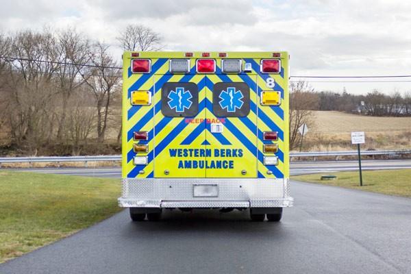 ambulance remount sales in PA - Glick Fire Equipment - rear