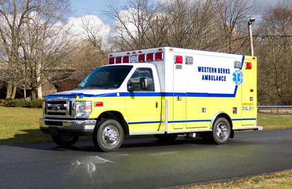 ambulance remount sales in PA - Glick Fire Equipment - driver front