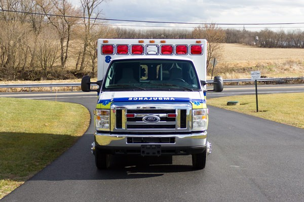 ambulance remount sales in PA - Glick Fire Equipment - front