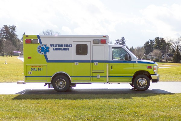 ambulance remount sales in PA - Glick Fire Equipment - passenger side