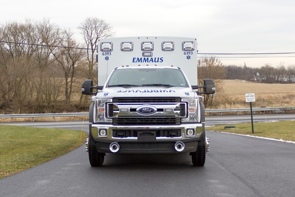 new Braun type 1 ambulance sales in Pennsylvania - front