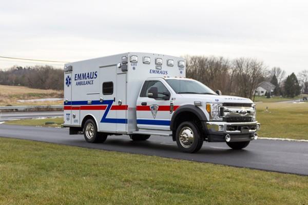 new Braun type 1 ambulance sales in Pennsylvania - passenger front