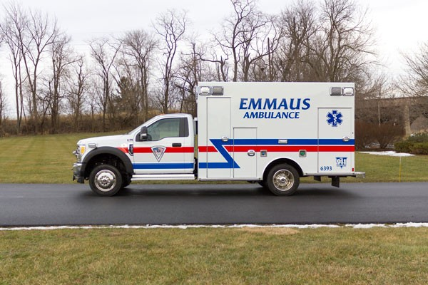 new Braun type 1 ambulance sales in Pennsylvania - driver side