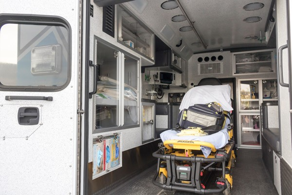 module interior driver side - type 1 ambulance sales in PA - Braun Liberty - Glick Fire Equipment