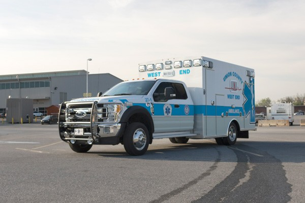 driver front - type 1 ambulance sales in PA - Braun Liberty - Glick Fire Equipment