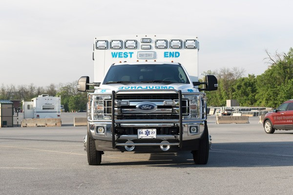 front - type 1 ambulance sales in PA - Braun Liberty - Glick Fire Equipment