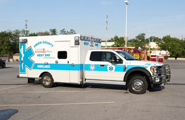 passenger front - type 1 ambulance sales in PA - Braun Liberty - Glick Fire Equipment