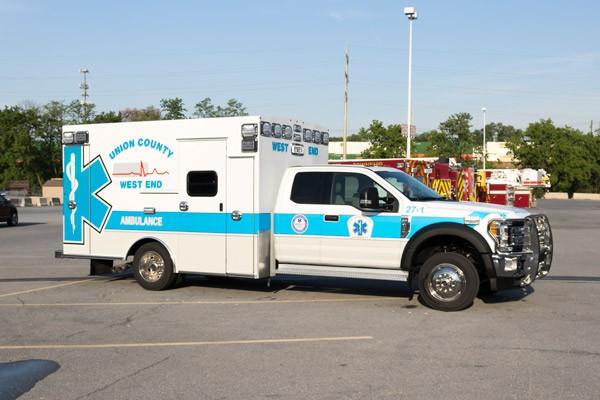 passenger front - type 1 ambulance sales in PA - Braun Liberty - Glick Fire Equipment