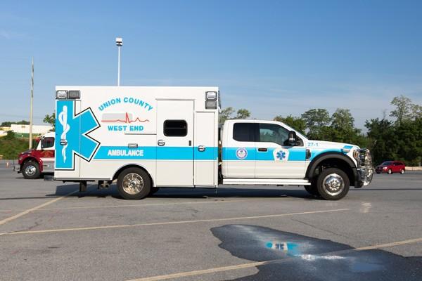 passenger side - type 1 ambulance sales in PA - Braun Liberty - Glick Fire Equipment