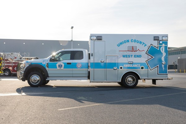 driver side - type 1 ambulance sales in PA - Braun Liberty - Glick Fire Equipment