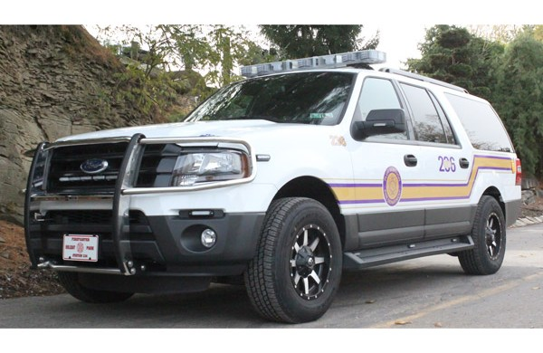 QRS - quick response emergency vehicle sales in PA - front detail