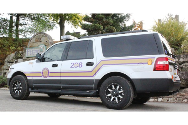QRS - quick response emergency vehicle sales in PA - driver rear
