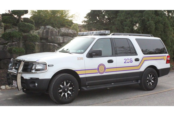 QRS - quick response emergency vehicle sales in PA - driver front