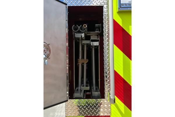 ladder storage - Pierce Enforcer demo fire engine