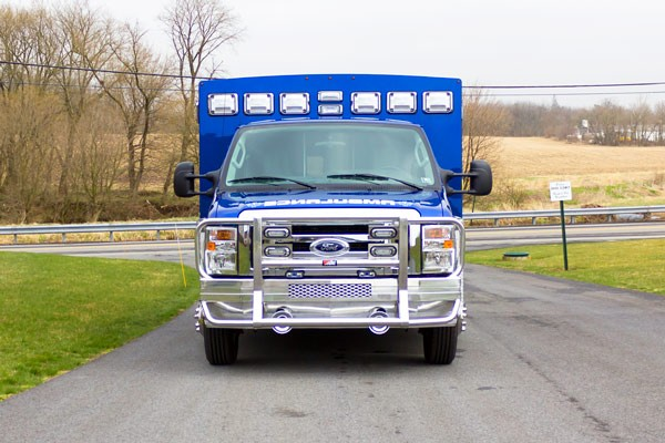 2016 Braun type III ambulance - front