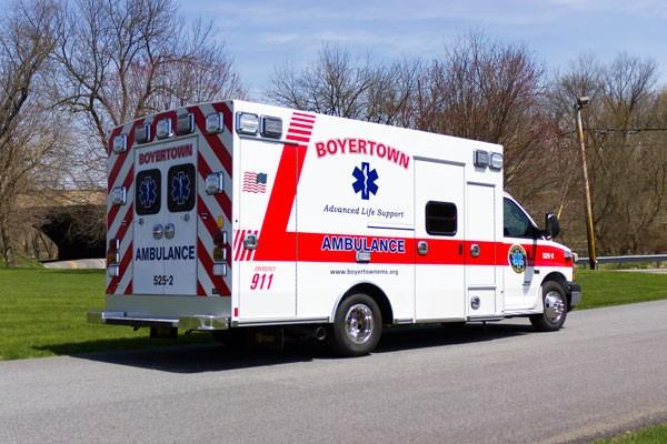 new 2017 Braun Chief XL type III ambulance - passenger rear