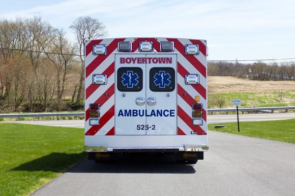 new 2017 Braun Chief XL type III ambulance - rear