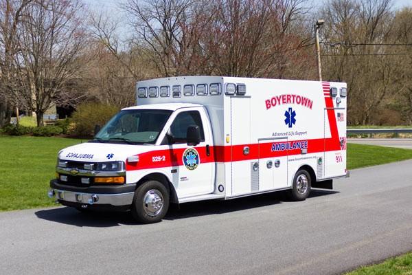 new 2017 Braun Chief XL type III ambulance - driver front