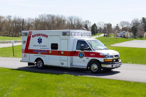 new 2017 Braun Chief XL type III ambulance - passenger front