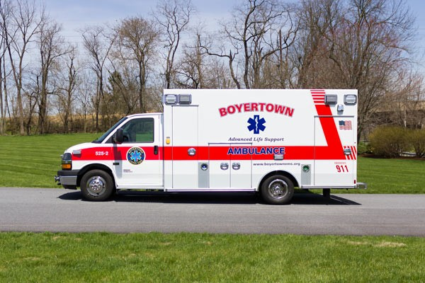 new 2017 Braun Chief XL type III ambulance - driver side