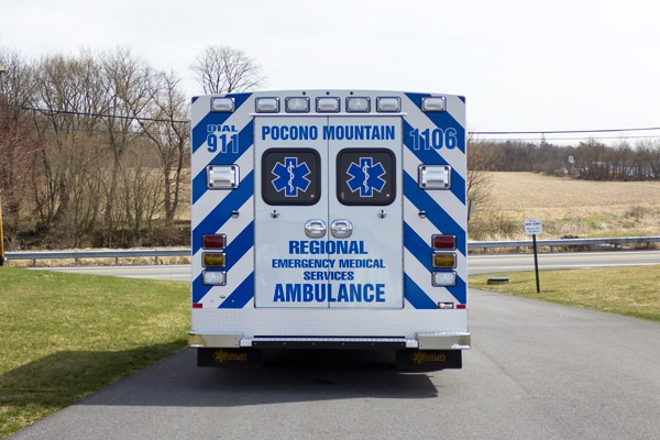 new 2017 Braun Type III ambulance sales in PA - rear