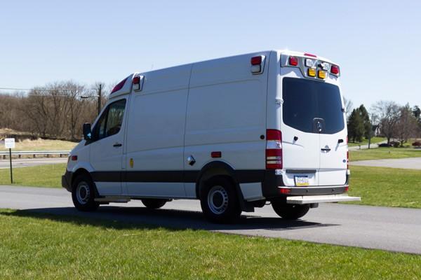 2017 Demers Mirage LT2E type II ambulance - driver rear