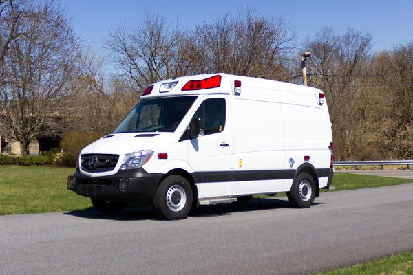 2017 Demers Mirage LT2E type II ambulance - driver front