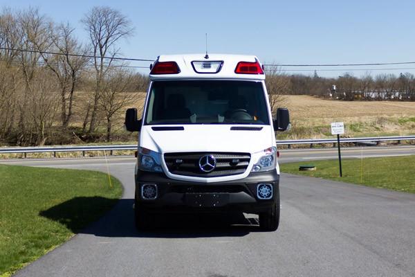 2017 Demers Mirage LT2E type II ambulance - front