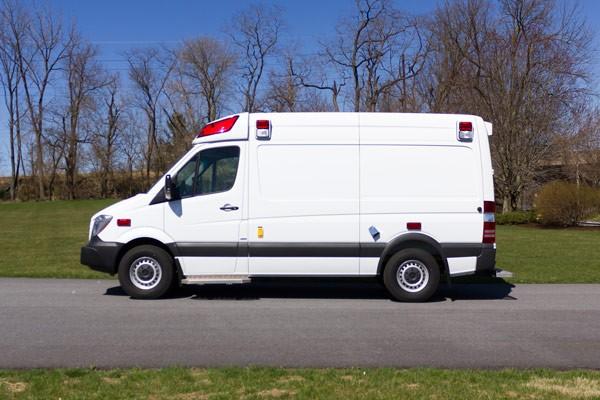 2017 Demers Mirage LT2E type II ambulance - driver side